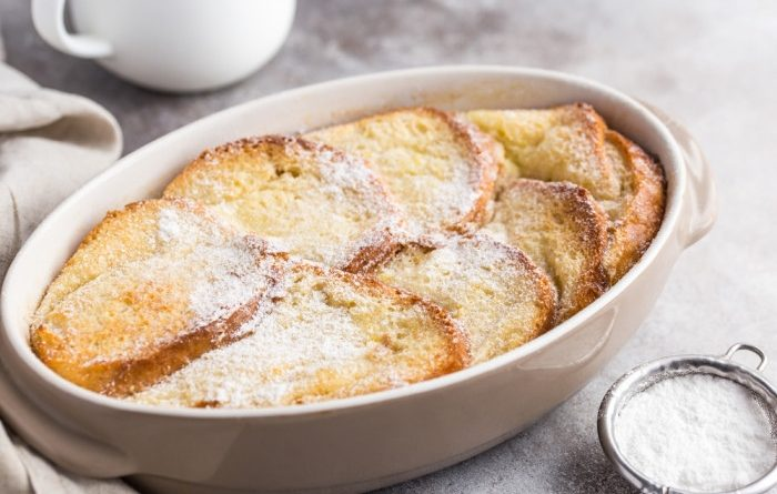 Хлебный пудинг: простой и вкусный