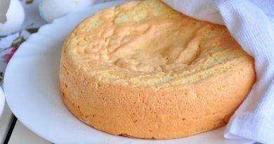 Секреты приготовления замечательного бисквита