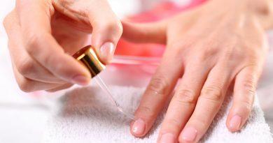 Эфирные масла для здоровых и красивых ногтей