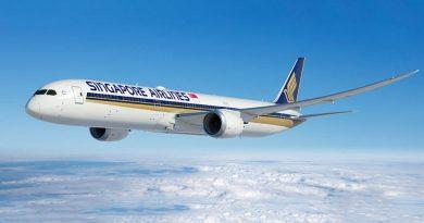 По мнению пассажиров авиакомпаний Singapore Airlines стала лидером в рейтинге