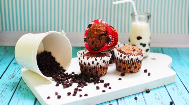 Кексы с шоколадными каплями