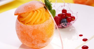 Десерт «Новогодний сюрприз»