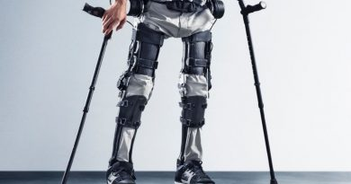 Автоматизированные штаны помогут ходить людям, имеющим паралич нижних конечностей