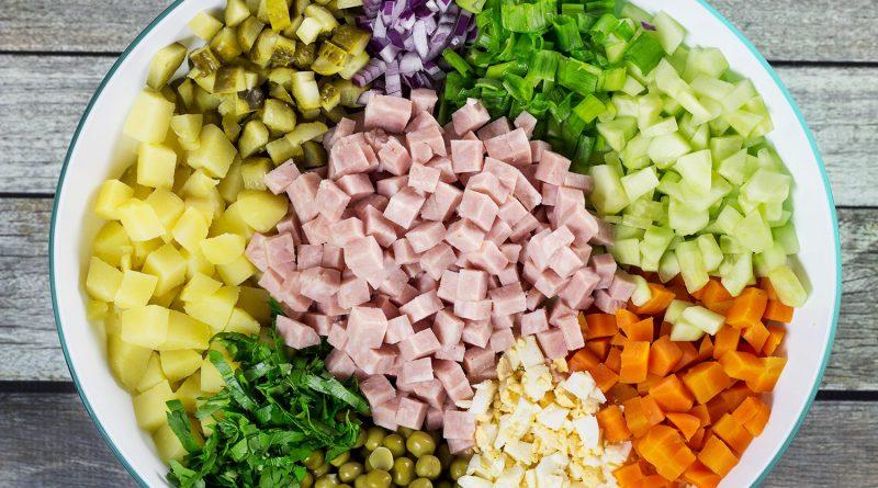 Как правильно готовить салат Оливье. Хитрости и секреты