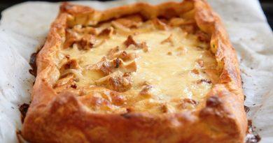 Рецепт пирога с грибами