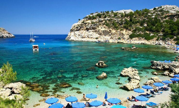 Какое море омывает остров Родос?