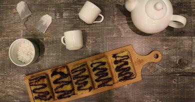 Печенье с кокосом и джемом