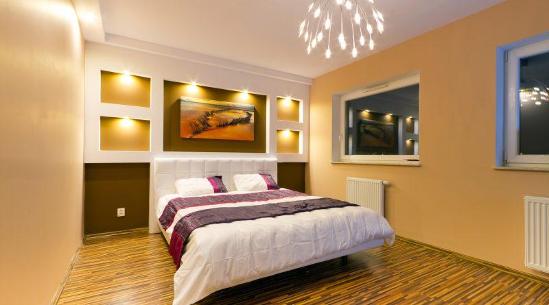 Нюансы освещения в спальне