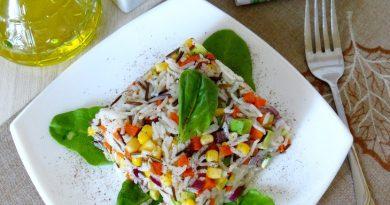 """Вегетарианский салат """"Нежный"""""""