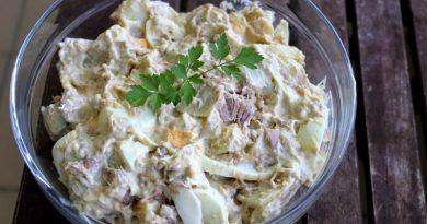 Восточный салат с тунцом