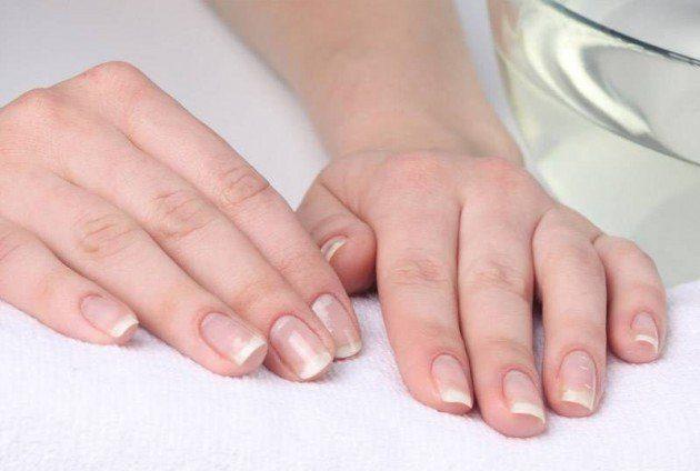 Как получить белые ногти!
