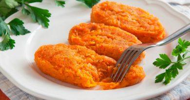 Вкусные морковные котлеты