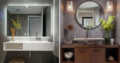 Как выбрать зеркало в ванную