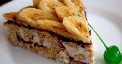 Вкуснейший сметанный торт из крекера