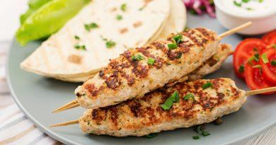 Люля кебаб из куриного филе в духовке