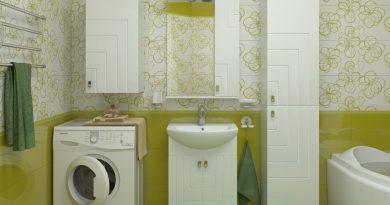 Какие шкафчики выбрать для маленькой ванной комнаты?
