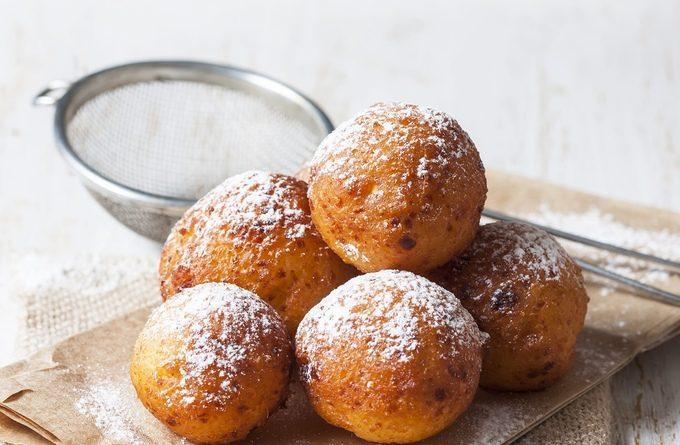 Творожные пончики: пошаговый рецепт