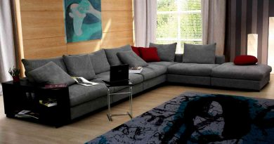 Выбор модели углового дивана в гостиную