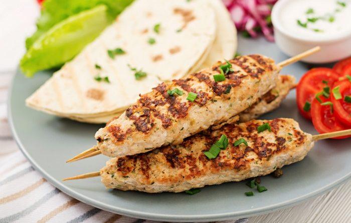 Люля кебаб из куриного филе