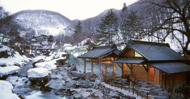 Зима в Японии. Лучшие места для посещения