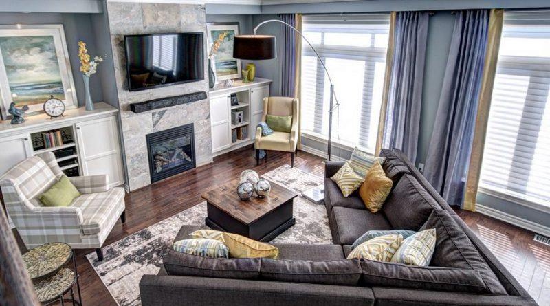 Расставляем мебель в гостиной правильно.