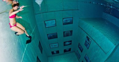 5 невероятных бассейнов
