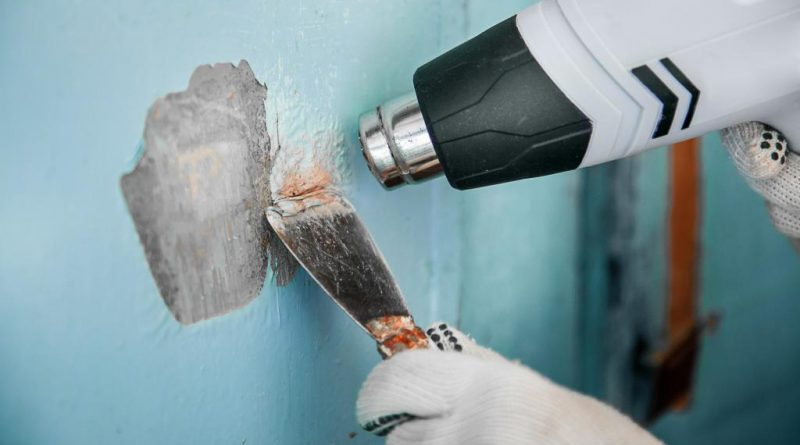 Как снять краску – масляную, акриловую, водоэмульсионную - способы
