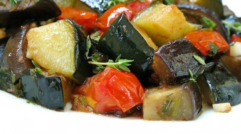 Аппетитное овощное рагу к обеду!