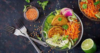 Салат с морковью и горчицей