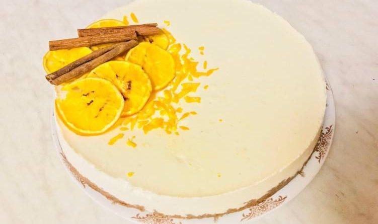 Как приготовить апельсиновый чизкейк без творога