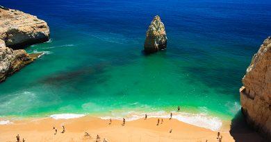 Где в Португалии самое теплое море?