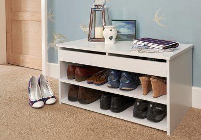 Как лучше хранить обувь в коридоре?