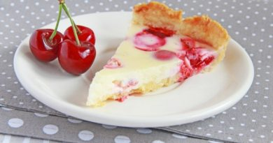 Тарт со сметанной заливкой
