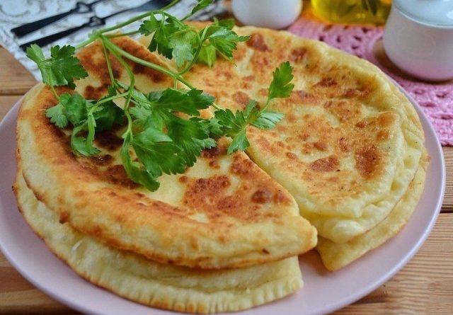 """Готовим самые простые """"Хачапури"""""""