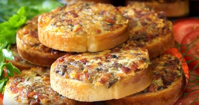 Быстрые, горячие бутерброды