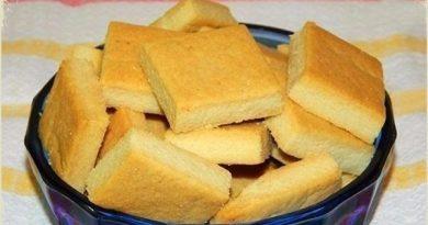 Манное печенье