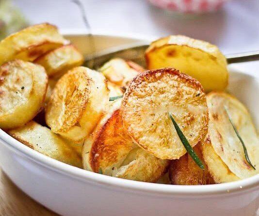 Картофель по рецепту Джейми Оливера