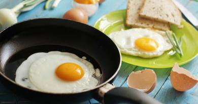 Секрет идеальной яичницы