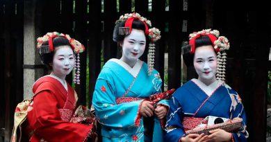Где туристу посмотреть на настоящих гейш в Японии