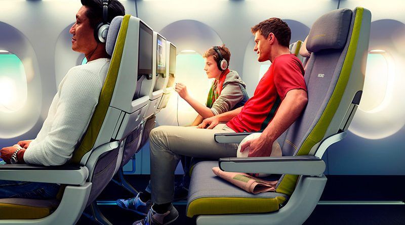 Для чего поднимают спинку кресла при взлете и посадке самолета?