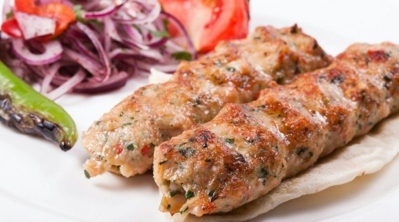Сочный люля-кебаб из курицы
