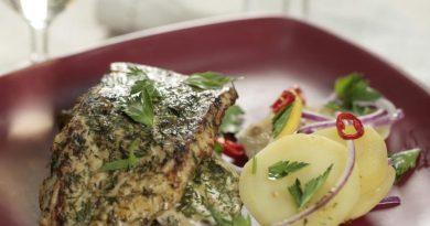 Рыба в лимонно-укропной панировке