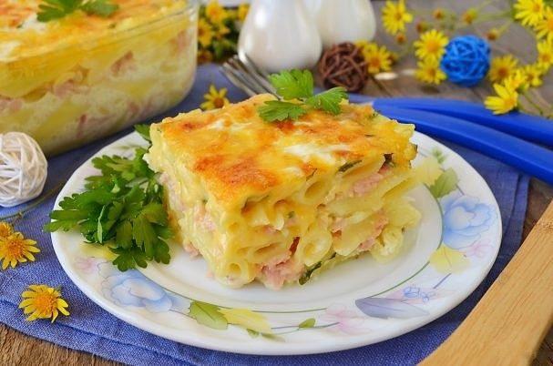 Пирог из пасты «Вива Италия»