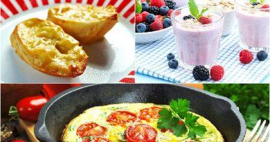 Быстрые завтраки за 5 минут: 3 рецепта