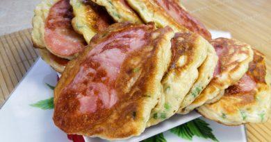 Завтрак-фурор: оладьи со вкусом пиццы!