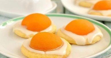 Пасхальное печенье «Яичница»