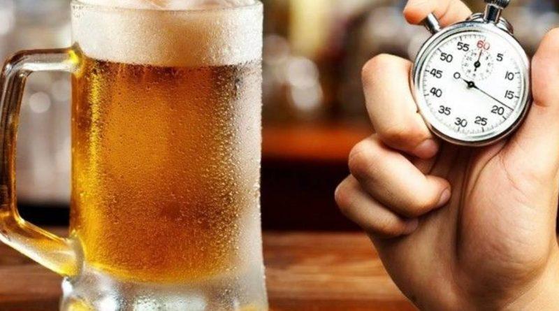 Как охладить пиво за одну минуту!