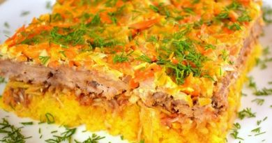 Рисовая запеканка с овощами и мясным фаршем.