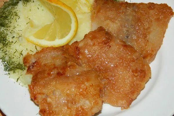 Рыбное филе в соево-томатном соусе
