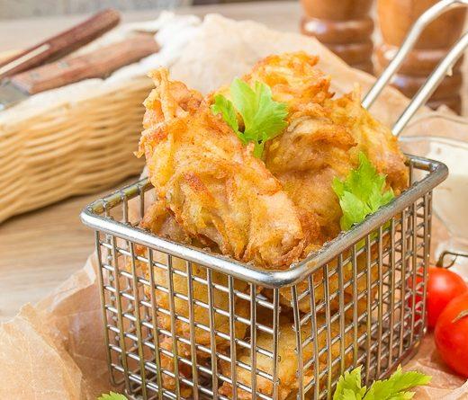 Куриные наггетсы в картофельной шубке